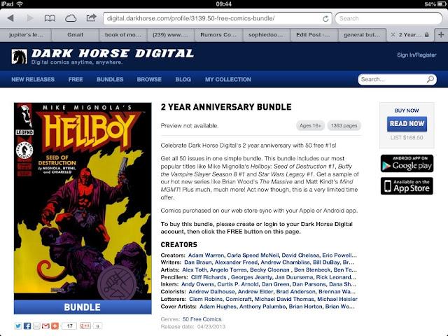 comics gratis dark horse