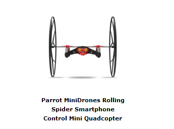 Mini Drone Parrot Rolling Spider - Banggood Shop