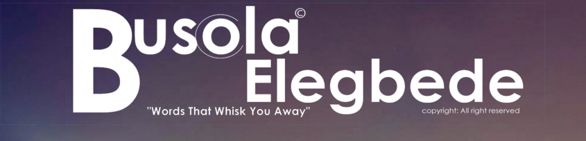 Busola Elegbede Webpage