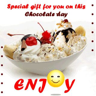 Happy Chocolate Day Scrap