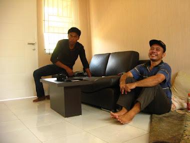 Meja tamu + sofa
