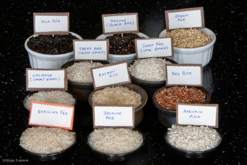 Different types and varieties of rice in my pantry images frompo - Six alternative uses of rice at home ...