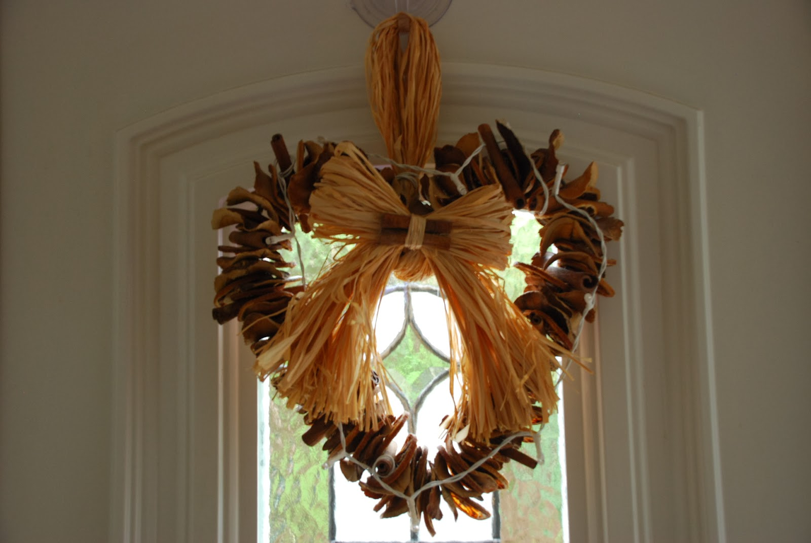 image of natural Winter wreath