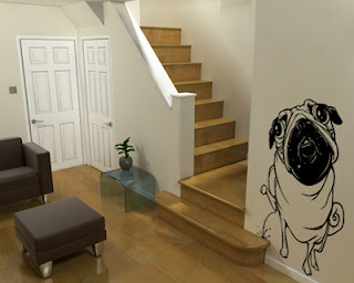 como aplicar adesivos decorativo na parede