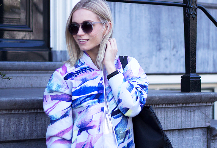 Fashion Attacks IvyRevel outfit ootd colorful bomber