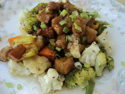pork vegetable mix