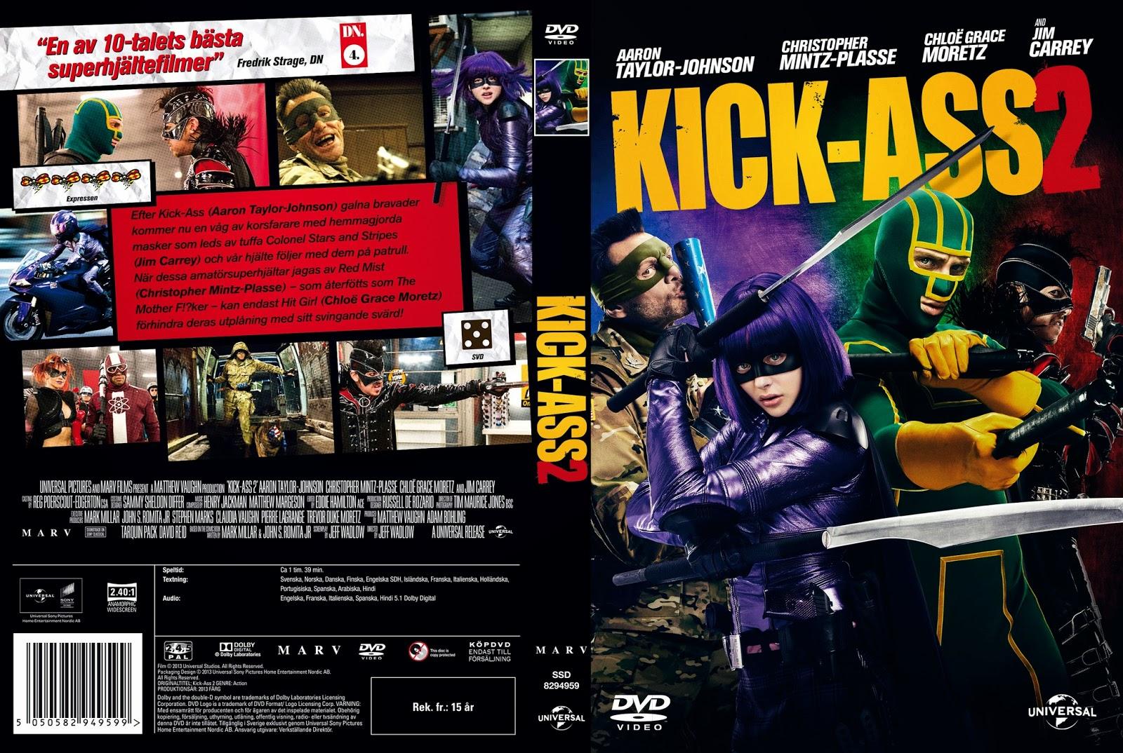 Kick-Ass 2 Con Un Par DVD