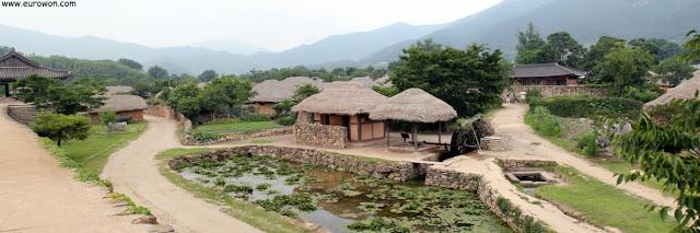 Aldea tradicional coreana Nagan-eupsong