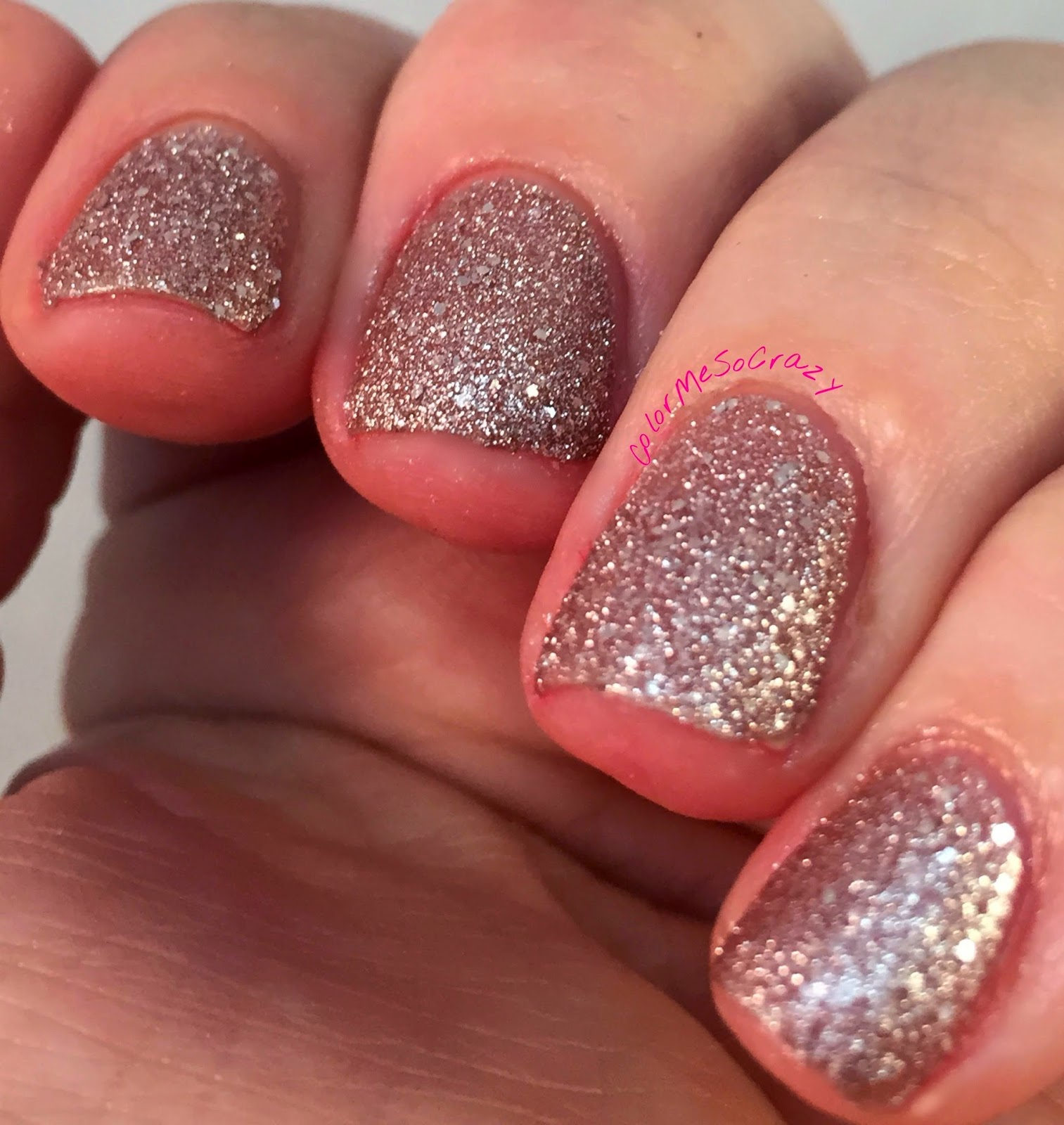 clubbing-girl-nail-polish, club-girl, gold-glitter-nail-polish, stripper-nail-polish, glitter-bomb