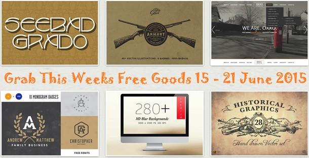 Grab this Weeks Freebies