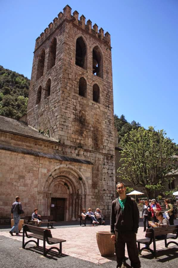 Romanesque church of Villefranche de Conflent