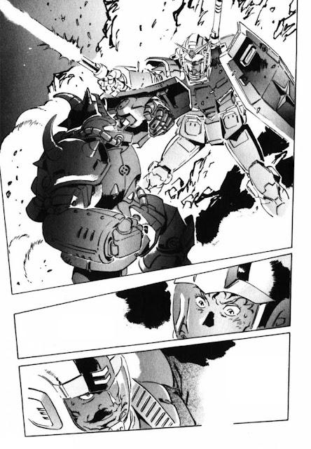 Mobile Suit Gundam: The Origin manga sample 1