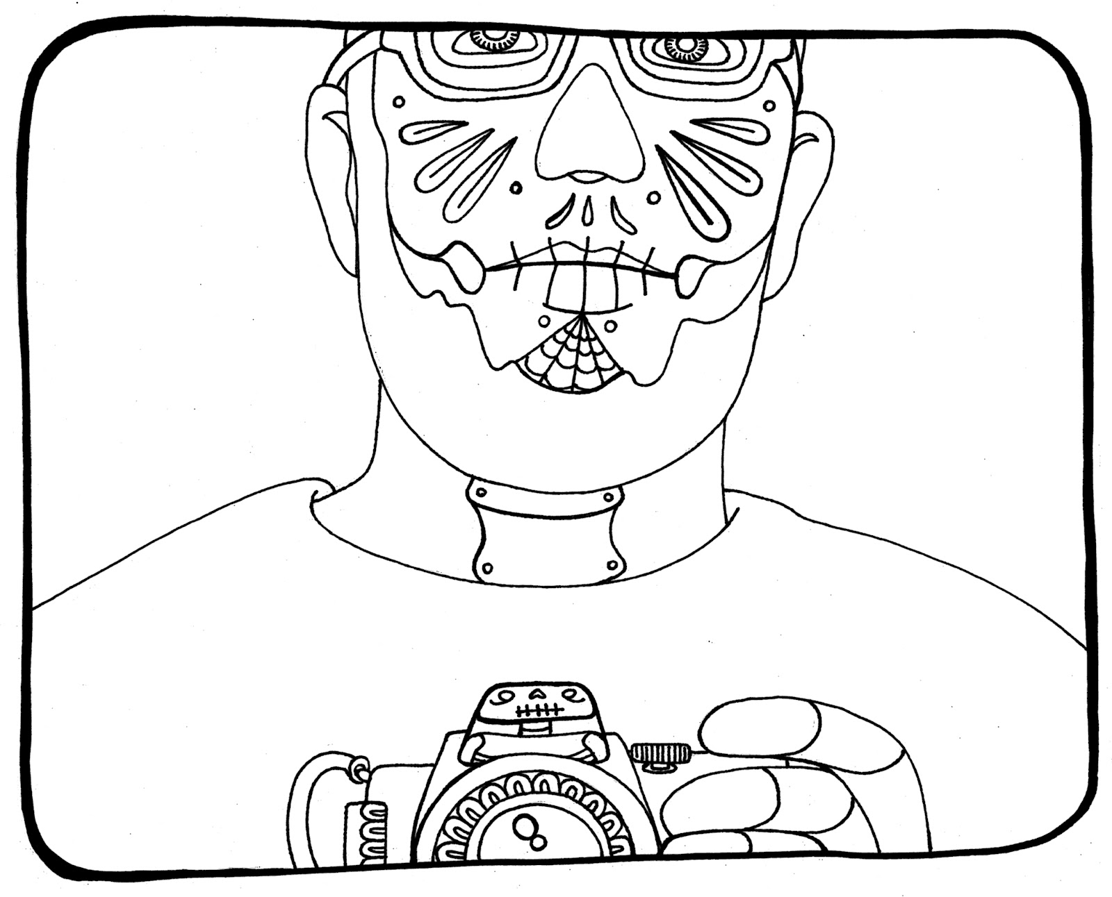 the daleks coloring pages