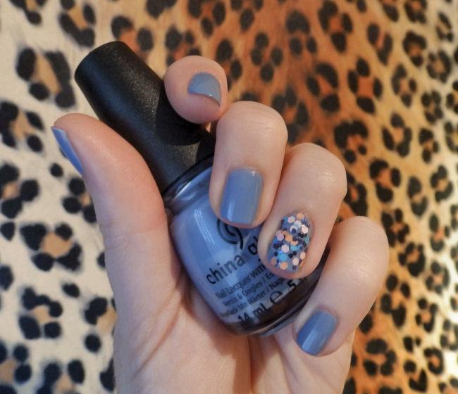 uk fashion and beauty blog review China Glaze Fade Into Hue and Glitter Up nail polish