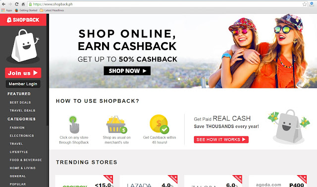 ShopBack: Shop Online, Earn CashBack
