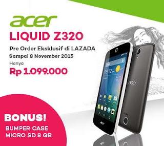 Harga dan Promo Acer Liquid Z320