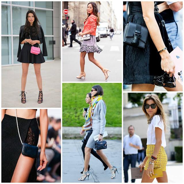 Famosas con bolsos pequeños. Viva Luxury. MicroBags. Minibags. La tendencia de los bolsos pequeños. Como llevar un bolso pequeño. Bolsos bandolera