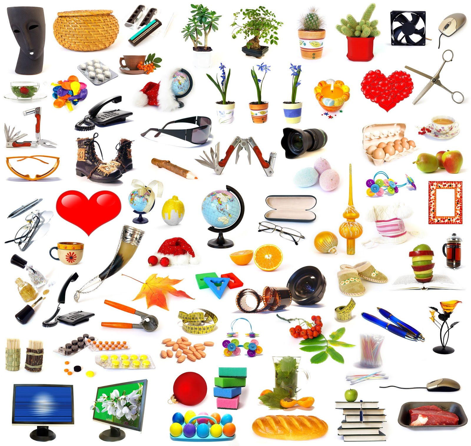 59 identify items in picture game identificar las