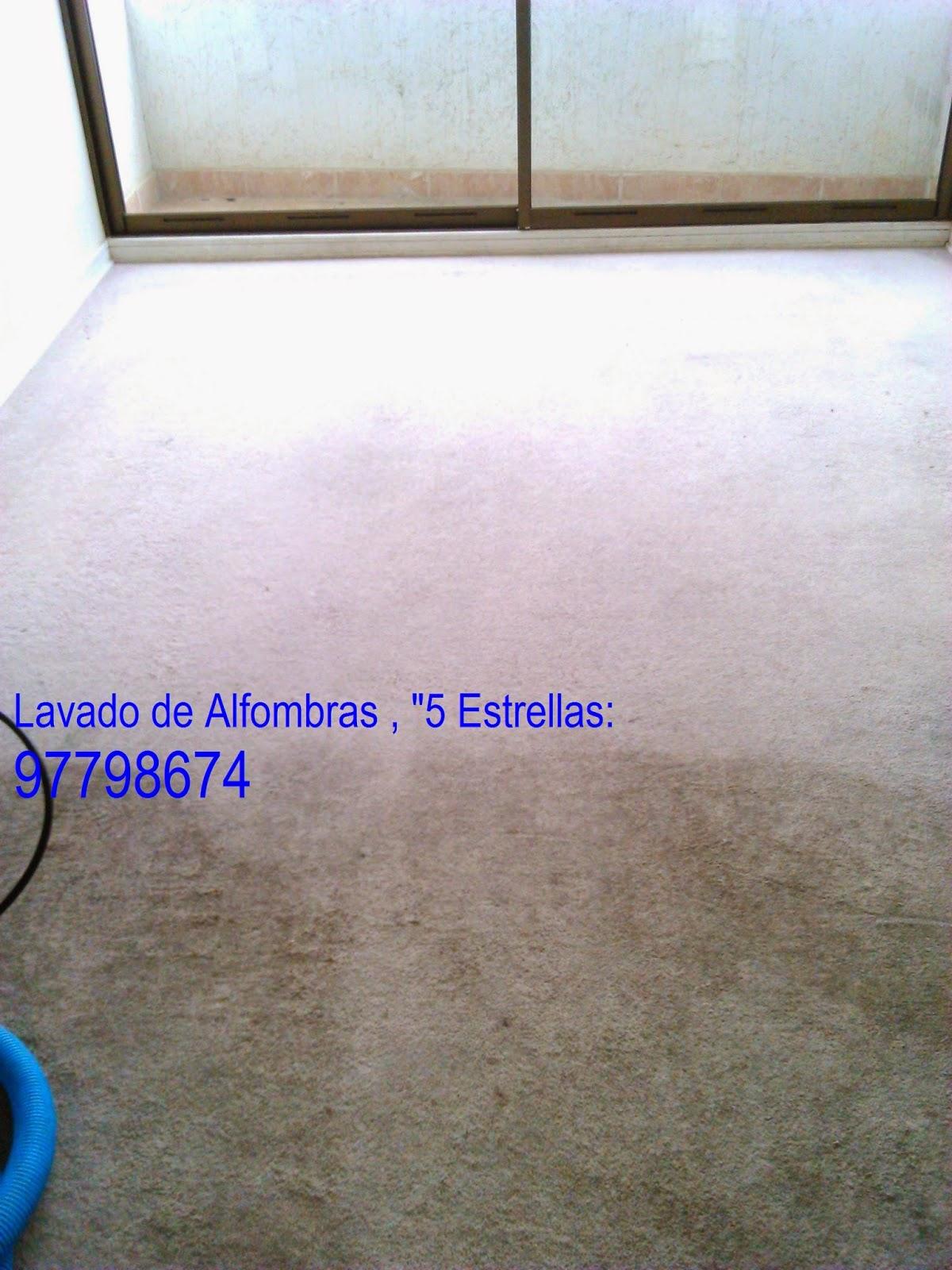 lavado de alfombras limpieza de tapiz: antes y despues del lavado de