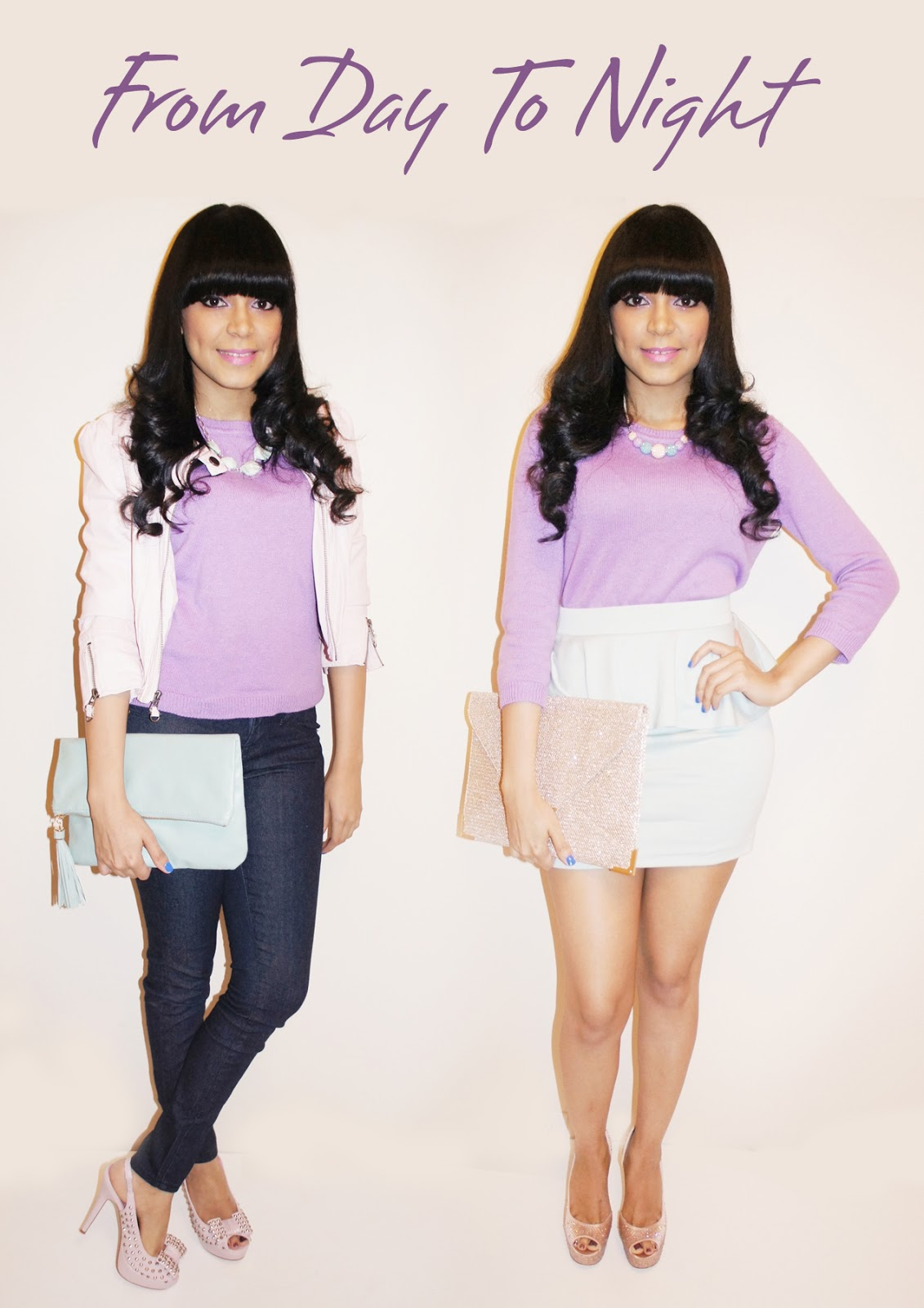 f840ddb918 From Day To Night  The Lavender Sweater - Katy009 Fashion