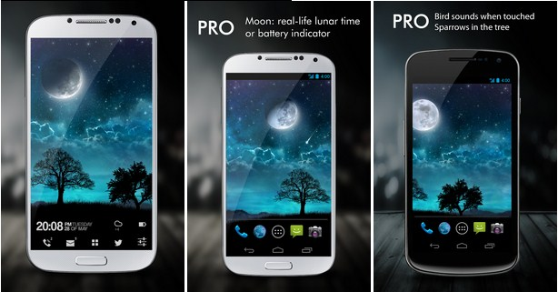 Free Download Dream Night Pro Live Wallpaper v1.3.3 Apk