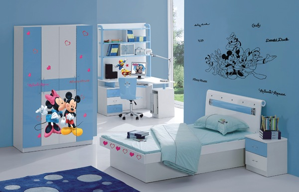 Papel pintado stickers disney for Habitaciones infantiles disney