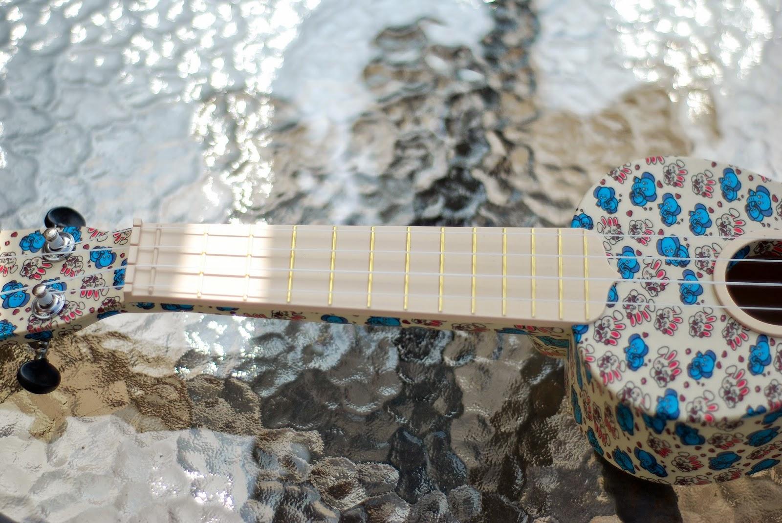 woodi plastic soprano ukulele neck