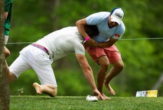 Saksikan Gambar Pelik yang Dirakamkan di Padang Golf