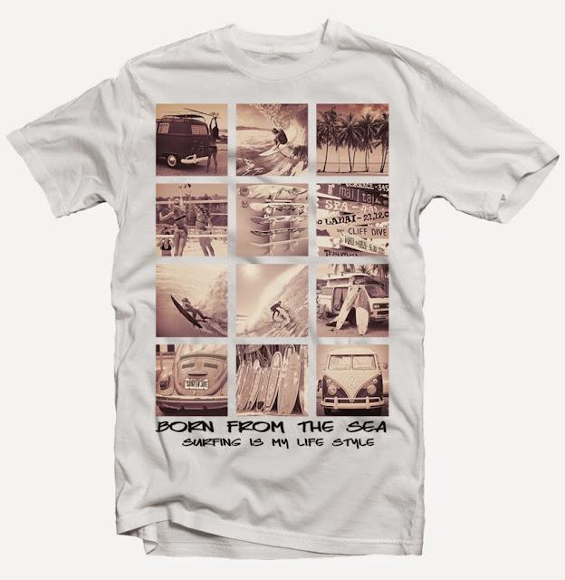 surfing tshirt designs
