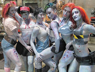 Zombicide, babe, sexy, hot, zombie