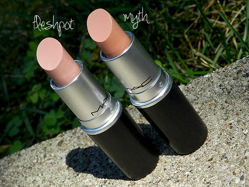 mac fleshpot lipstick review