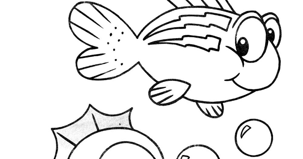 desenho para colorir cavalo marinho com peixinho colorir