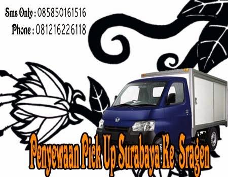 Penyewaan Pick Up Surabaya Ke Sragen