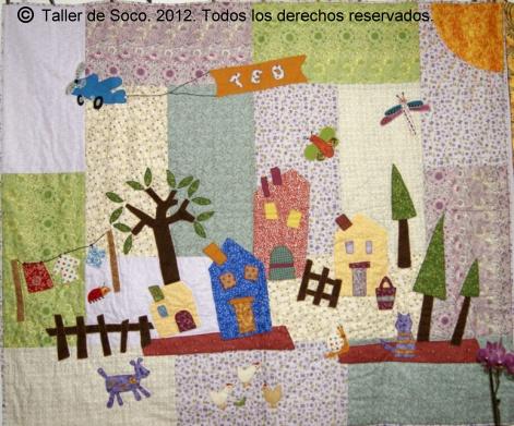 Patchwork soco fotos 1 exposici n fin de curso 2012 - Colchas patchwork infantiles ...