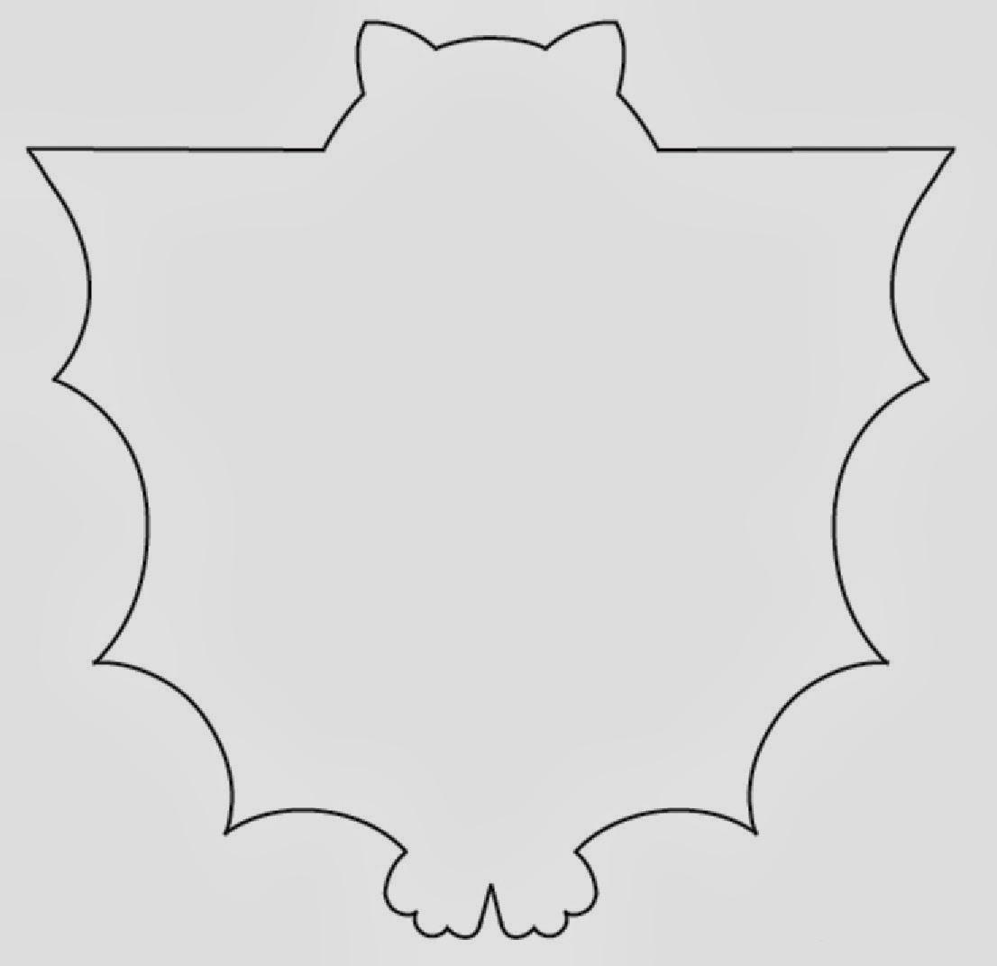 Manualidades envoltorio de murci lago - Murcielagos halloween para imprimir ...