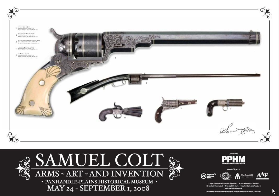 samuel colt Samuel colt (july 19, 1814 - january 10, 1862) was an american inventor, industrialist, businessman, and hunter he founded colt's patent fire-arms manufacturing company (today colt's manufacturing company ) and made the mass production of the revolver commercially viable.