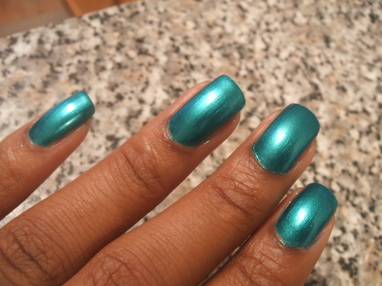 Nail Fanatics ~ Wet n\' Wild Caribbean Frost - Refined and Polished