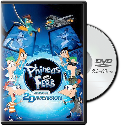 Phineas And Ferb: Across The Second Dimension (2011) DVDRip Español Latino