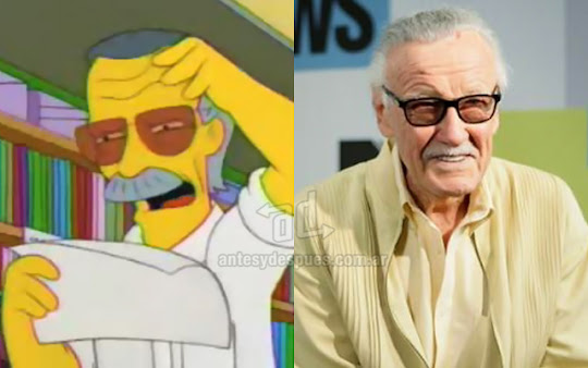 Stan Lee simpsons artis+kartun Tokoh tokoh selebriti dalam serial kartun The Simpson