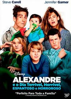 Alexandre e O Dia Terrível, Horrível, Espantoso e Horroroso - BDRip Dual Áudio