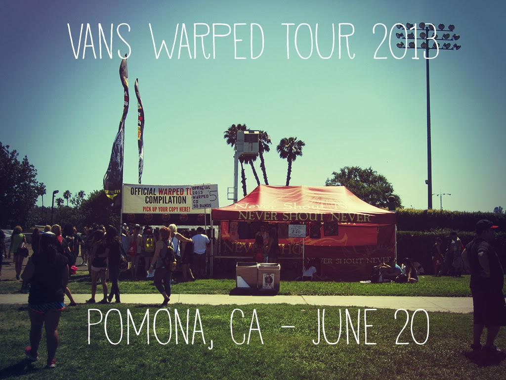 Vans Warped Tour 2013 Pomona CA