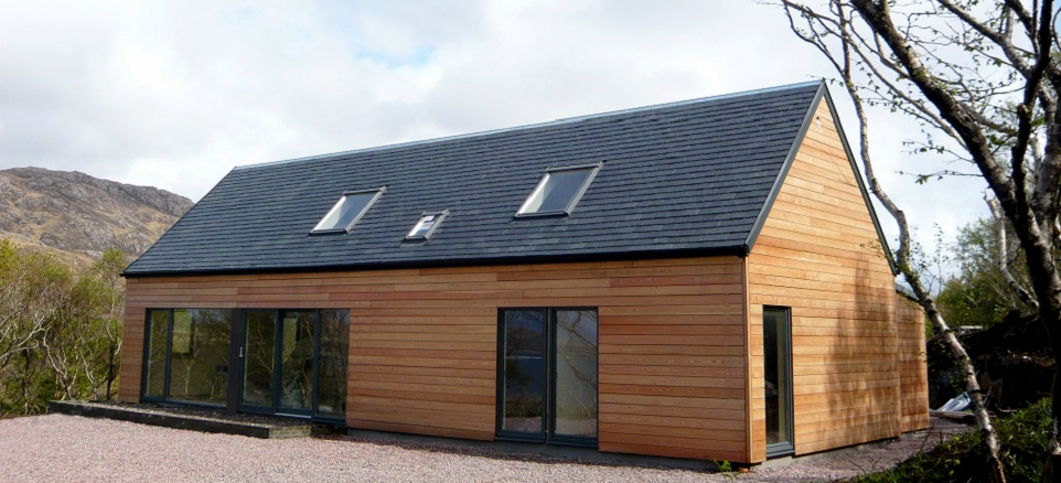Ecoinnovate london design week hebhomes scottish eco for Contemporary timber homes
