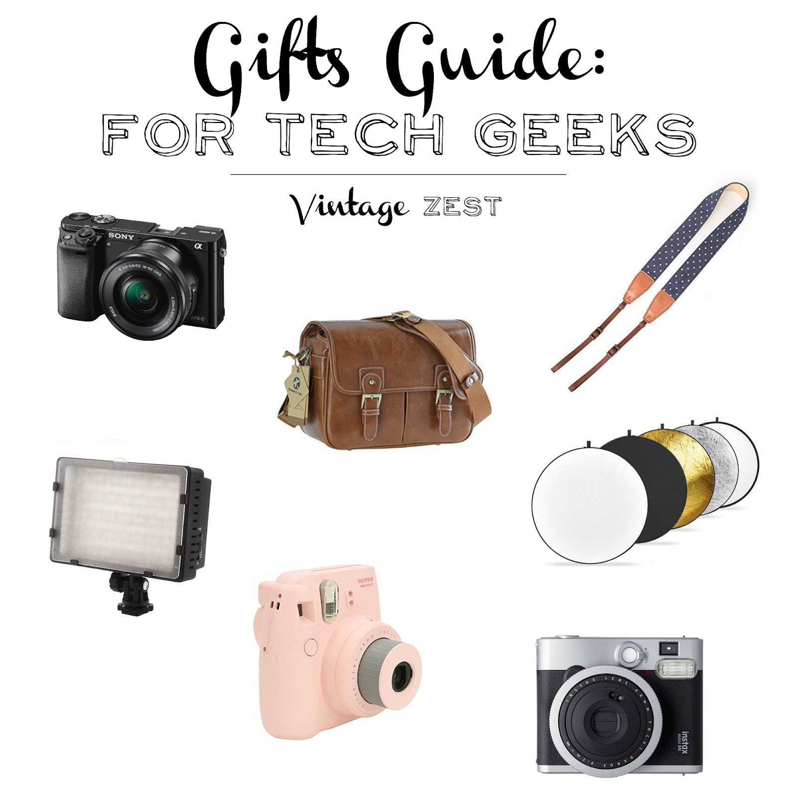 Gift Guide for Tech Geeks on Diane's Vintage Zest!