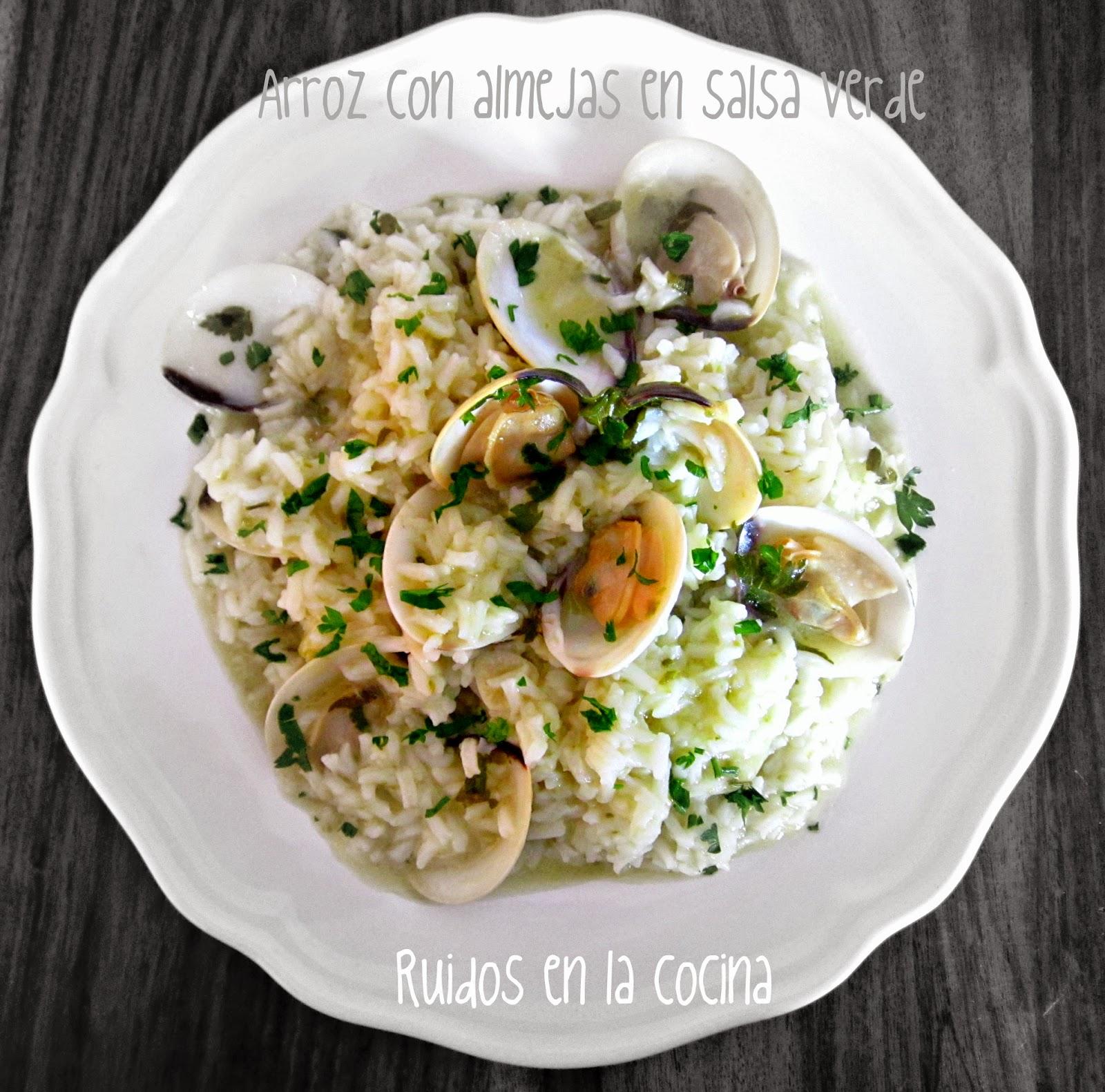 Ruidos en la cocina arroz con almejas en salsa verde - Almejas con salsa verde ...