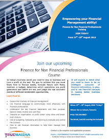SIGN UP FOR FINANCE FOR NON FINANCIAL PROFESSIONALS TRAINING