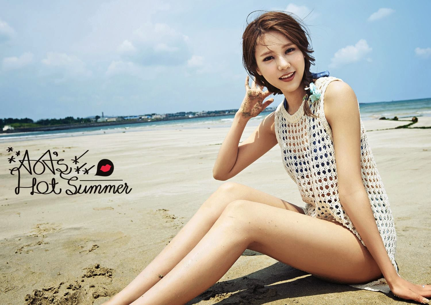 Hyejeong AoA Photobook Hot Summer