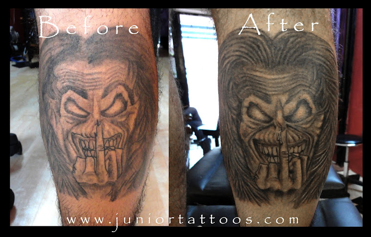 Eddie Tattoo Redone