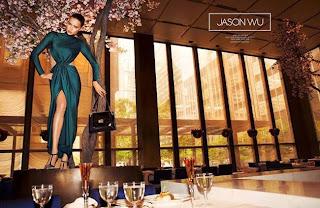 Adriana Lima para Jason Wu otoño-invierno 2014/2015
