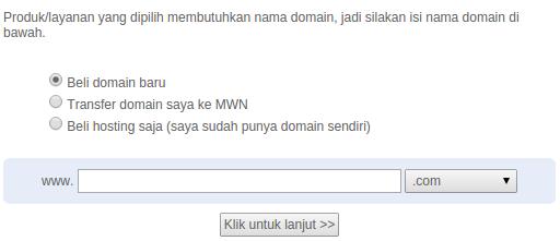 contoh pendaftaran domain masterweb