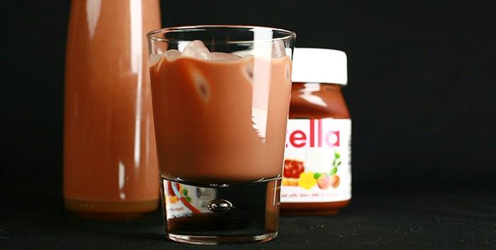 Liquore Alla Nutella Fatto In Casa Con Il Bimby Tm5 Ricette Bimby